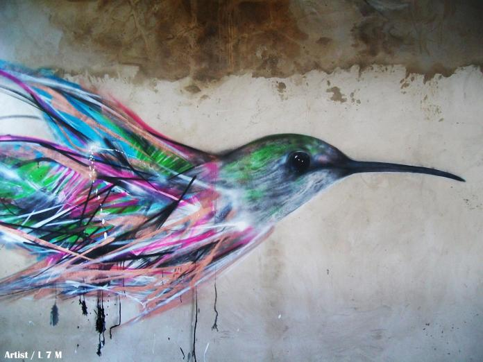 Street Art by L7m 7