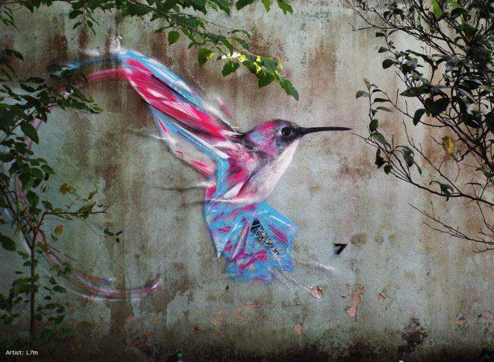 Street Art by L7m in Sao Paulo, Brazil 59752