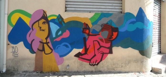Street Art by SAO in São Paulo, Brazil 1
