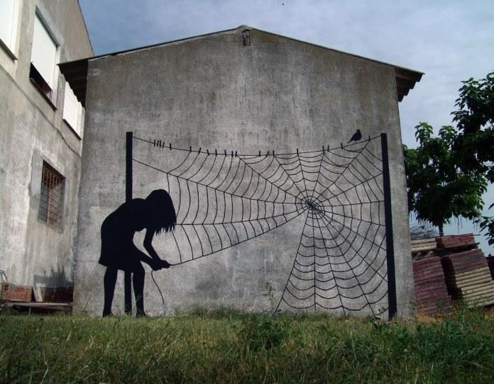 Street Art by Pejac in Salamanca, Spain 4
