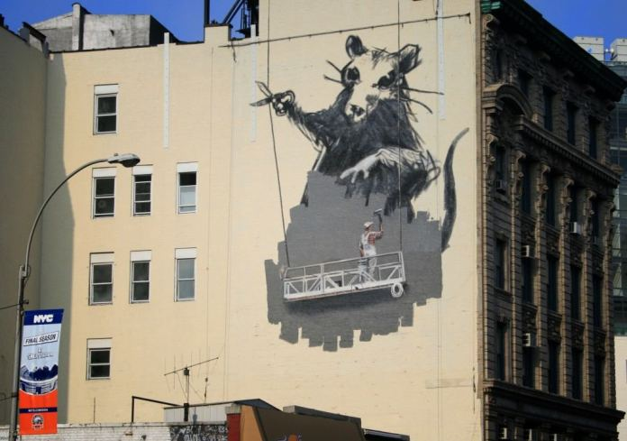 Street Art Collection - Banksy 12