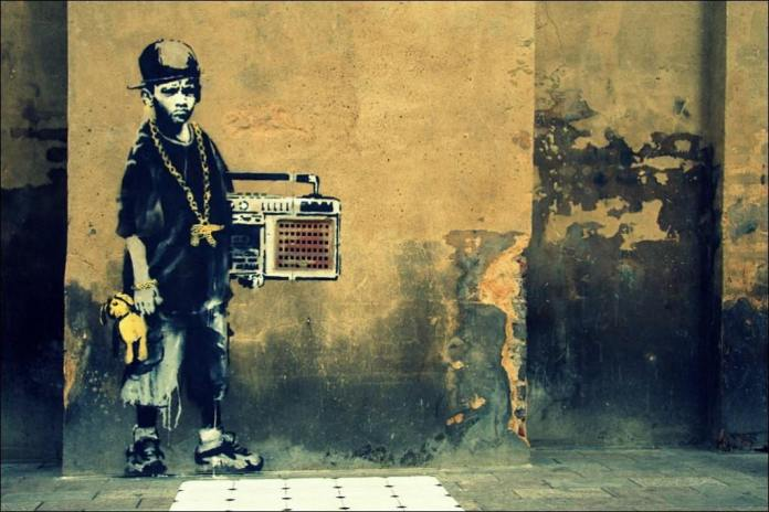 Street Art Collection - Banksy 14