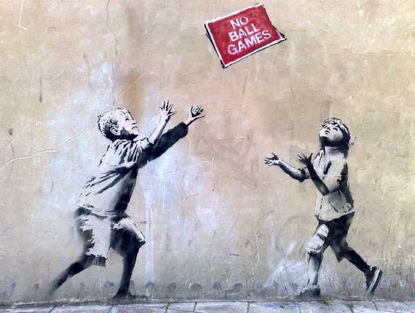 Street Art Collection - Banksy 49