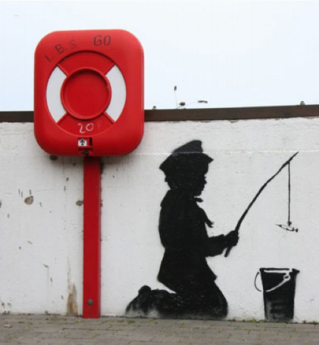 Street Art Collection - Banksy 50