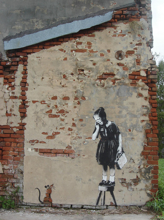 Street Art Collection - Banksy 76