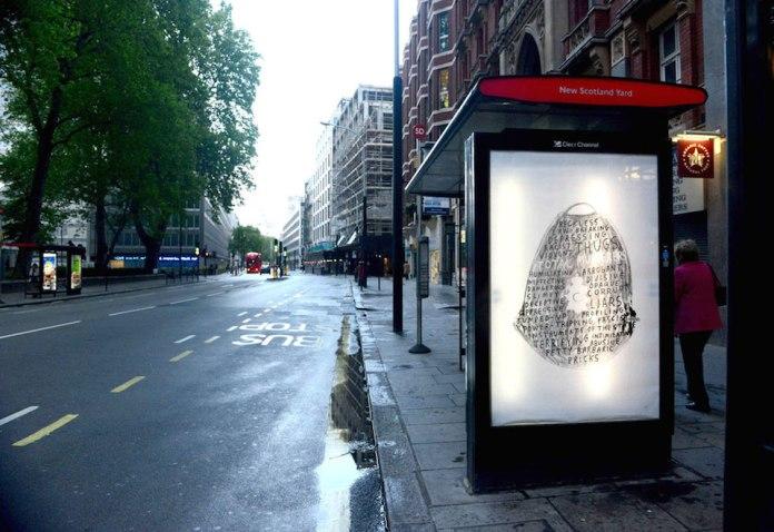 Brandalism - In London. By Peter Willis