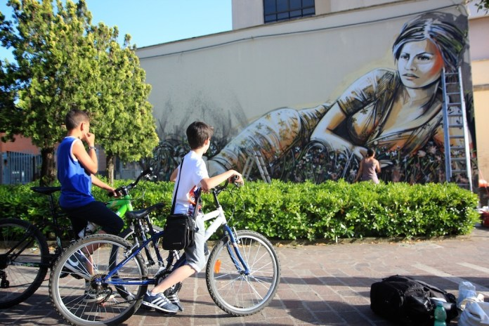By Alice Pasquini in Itri, Italy for the Memorie Urbane Festival 1