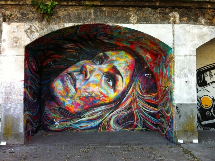 Street Art by David Walker at IN SITU Art Festival - Aubervilliers, France 1
