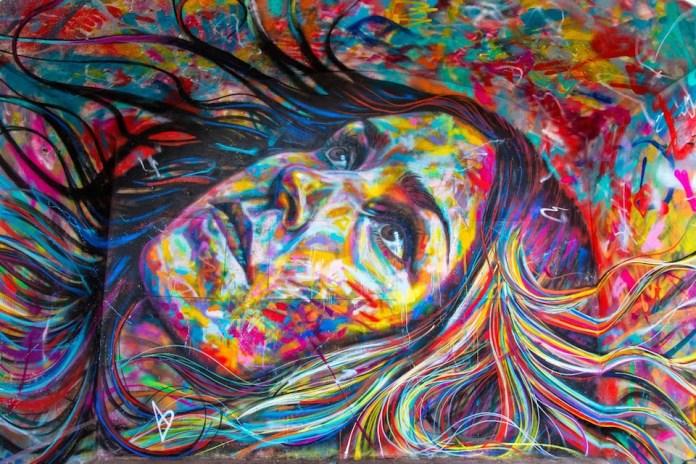 Street Art by David Walker at IN SITU Art Festival - Aubervilliers, France 2