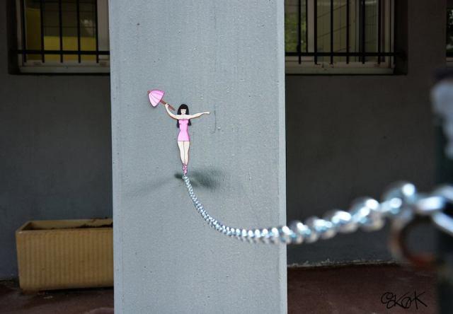 Street Art by Oakoak in France 75474567