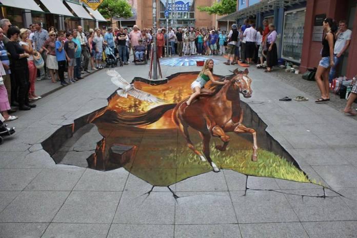 3D Street Art by Nikolaj Arndt 2