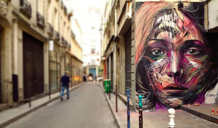 Street Art by Hopare in Paris, France 2014 2 685786
