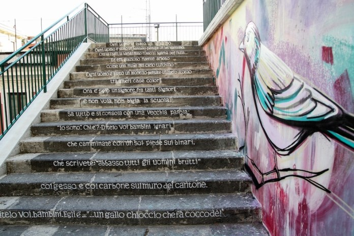 Street Art by Alice Pasquini in Salerno, Italy 6