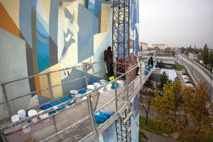 By Proembrion, Tone, Sepe, Chazme, Cekas - at GALERIA URBAN FORMS in Lodz, Poland 7