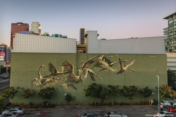 Street Art by Faith 47 in Los Angeles, USA 2