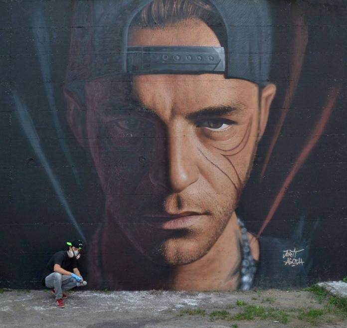 Street Art by Jorit AGOch 1