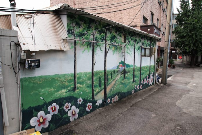 Street Art fromSeoul Area, South Korea. Photo byMark Johnson43