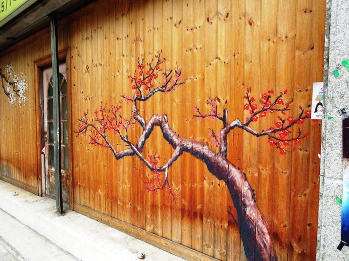 Street Art fromSeoul Area, South Korea. Photo byMark Johnson5