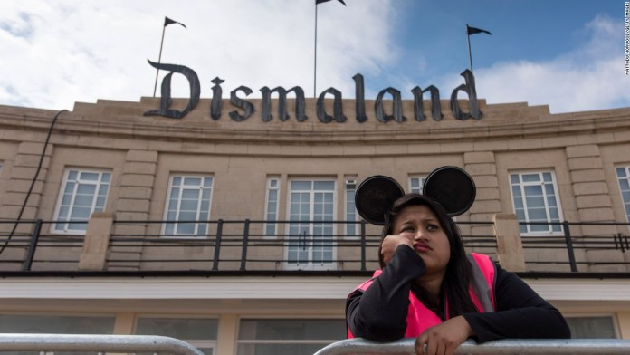 Street Art by Banksy and other artists in London, England - Dismaland 15