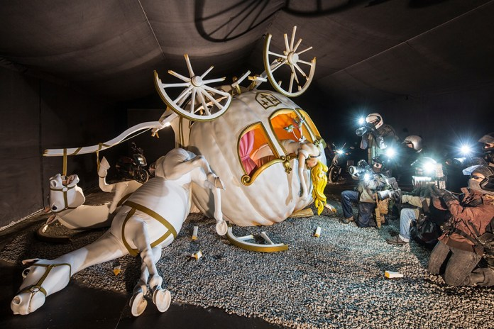 Street Art by Banksy and other artists in London, England - Dismaland 16