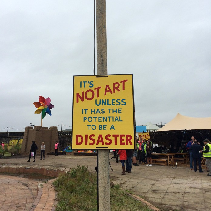 Street Art by Banksy and other artists in London, England - Dismaland 8