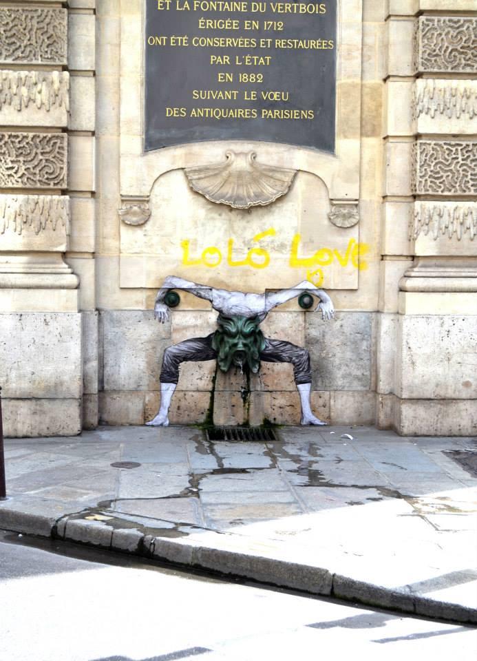 Street Art by Levalet in Paris, France 3 5674