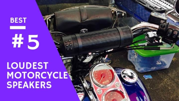 5 Best Loudest Motorcycle Speakers You can purchase