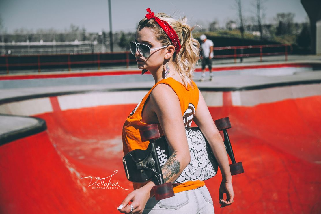 beauty at the skatepark