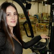 sheet metal plant forklift girl oakville