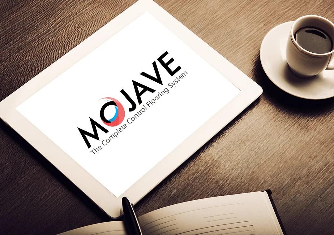 Mojave underfloor heating graphics design project