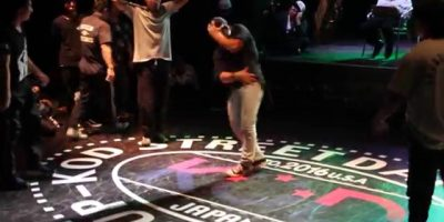 Bboy Issei killing the beat. Footage from KOD Dance World Cup 2015