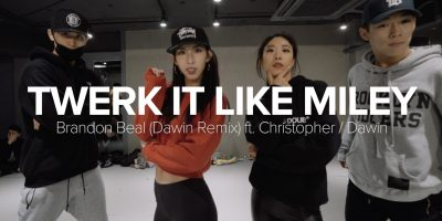 Twerk it like Miley – Brandon Beal (Dawin Remix) / Mina Myoung Choreography