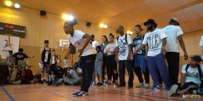 AURELE VS GIRL SLAM 1/4 FINAL   Hip Hop vs Krump Championship Vol V 2016