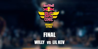 Willy vs Lil Kev – Red Bull BC One France Cypher 2016 – Final