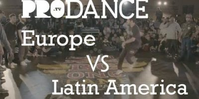 Europe vs Latin America   Red Bull BC One Continent battle 2016