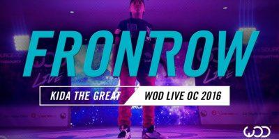 Kida the Great | FrontRow | World of Dance Live OC 2016 | #WODLiveOC16