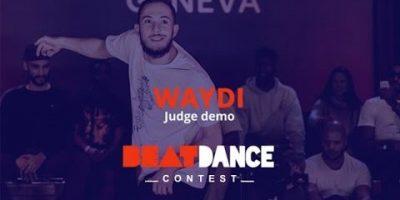 Beatdance Contest 2017 GENEVA – Judge demo – Waydi (CriminalZ crew)