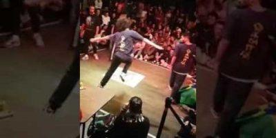 Diablo and Stylez vs Emanu and Thiago Juste Debout Selection 1/8 Hip Hop 2017