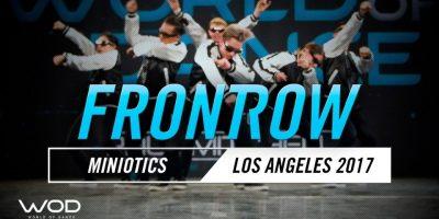 Miniotics | FrontRow | World of Dance Los Angeles 2017 | #WODLA17