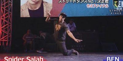 STREET KINGS vol.2 in大阪 セミファイナル|Spider Salah vs BEN|ストリートダンス世界一決定戦|AbemaSPECIAL【AbemaTV】