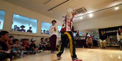 優弥/Yuya(FORCE ELEMENTS) vs Ringo Winbee(エンジェライズ) BEST4 DANCE ALIVE HERO'S 2018 KIDS TOHOKU vol.1