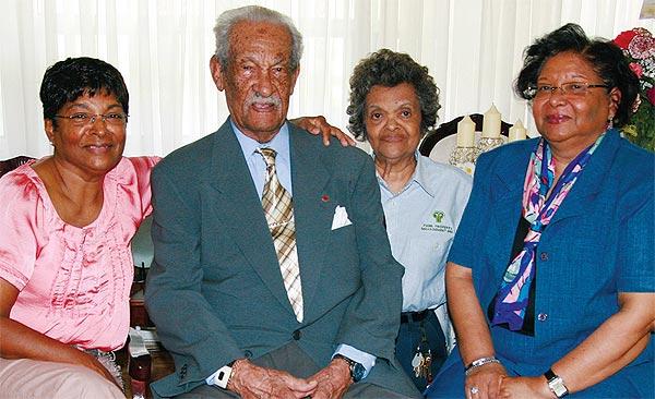John Henry Dillon celebrates his 105th birthday