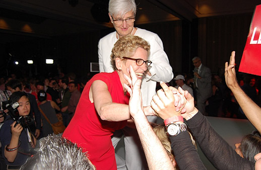 DOUBLE WINNER: Kathleen Wynne