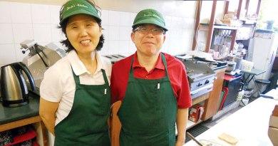 Rosie's Diner owners