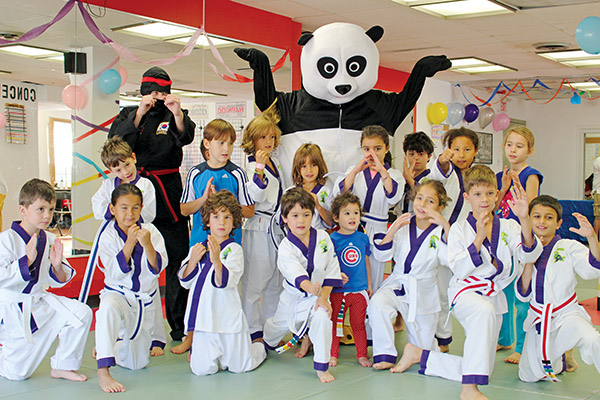 PANDA-RING TO THE KIDS: Actually that's not true, as The Toronto Hapkido Academy has students of all ages studying the post-World War II martial art from Korea, according to Master Dayo Odesanya.