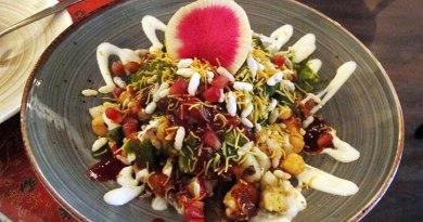 Indian Street Food dish