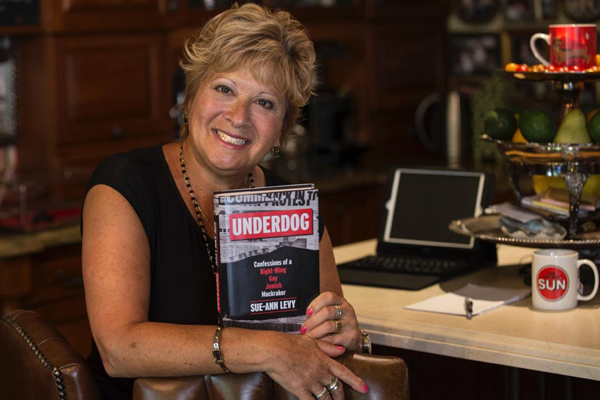CATHARTIC: Toronto Sun columnist, and Forest Hill resident, Sue-Ann Levy, has written a tell-all book about city hall politics, being bullied as a child, and the origins of her feisty persona, in her biography, Underdog.