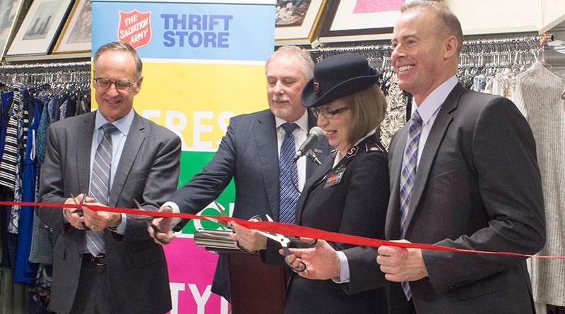 Thrift store opens on Overlea
