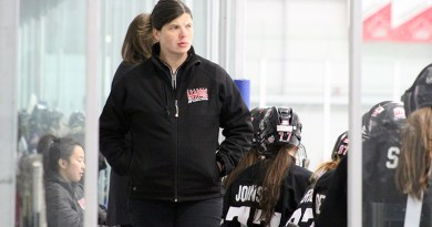 Leaside Wildcats behind the bench