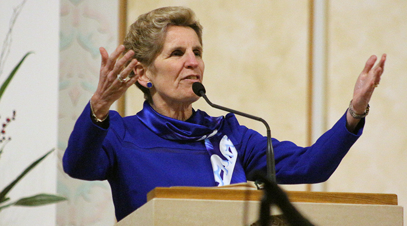 Wynne at St. Monica's